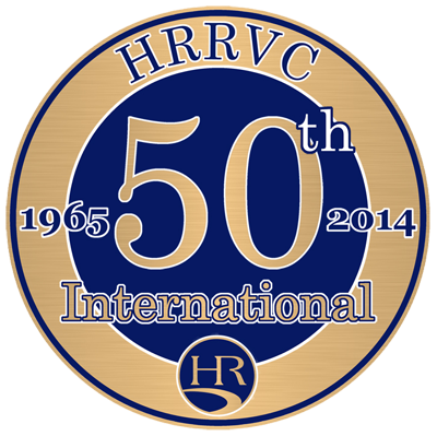HRRVC International 50th Logo